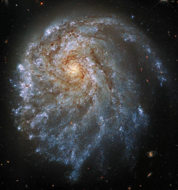 https://safirsoft.com The Hubble Space Telescope takes a closer look at an unusual spiral galaxy 120 million light-years away
