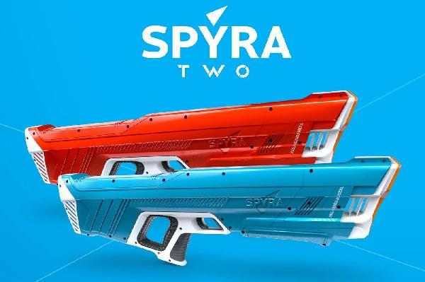 https://safirsoft.com Spyra's new digital water blaster improves on the original in nearly every way