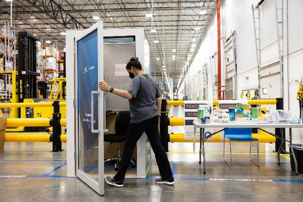 https://safirsoft.com Amazon is installing 'individual interactive kiosks' at fulfillment centers to promote mindfulness practices