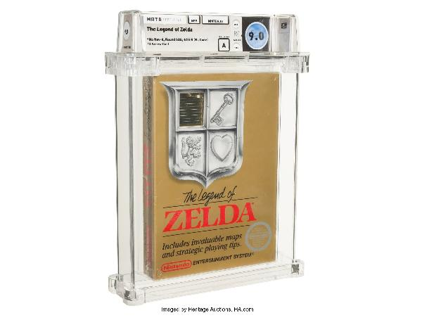 https://safirsoft.com A rare copy of The Legend of Zelda has already been offered for up to $115,000