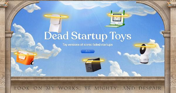 https://safirsoft.com Dead Startup Toys are small versions of failed startups