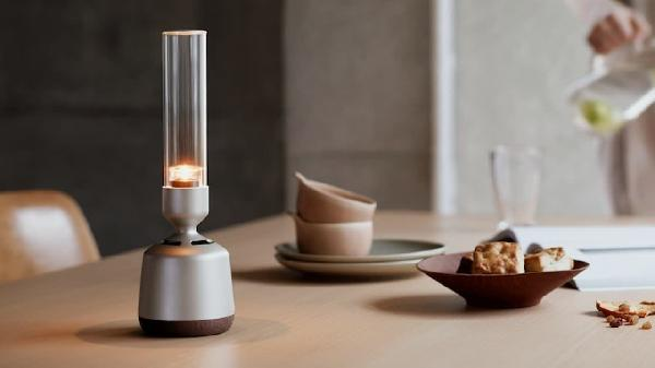 https://safirsoft.com Sony's weird wireless glass speaker as a double lantern for $349