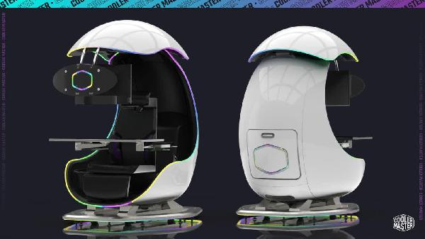 https://safirsoft.com Cooler Master Orb X is a semi-enclosed egg-shaped gaming chair