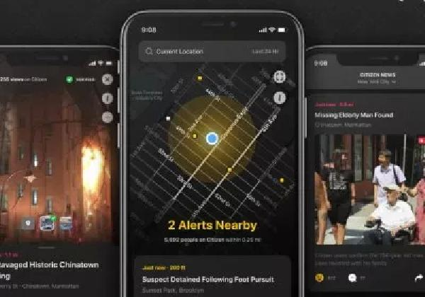 https://safirsoft.com Citizen pays $200 to $250 per day to track and stream crime and emergencies