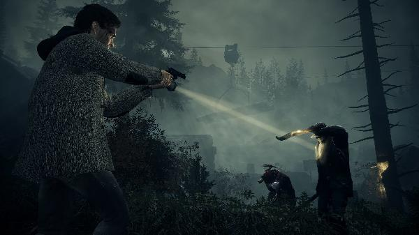 https://safirsoft.com Here's what Alan Wake Remaster looks like in 4K on PlayStation 5