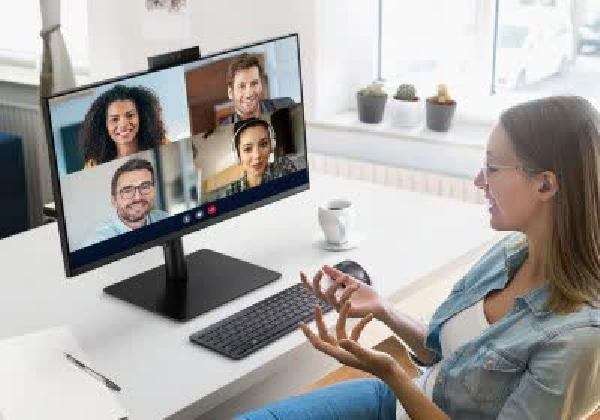 https://safirsoft.com Samsung introduces a new WFH-focused monitor with built-in webcam and Windows Hello support