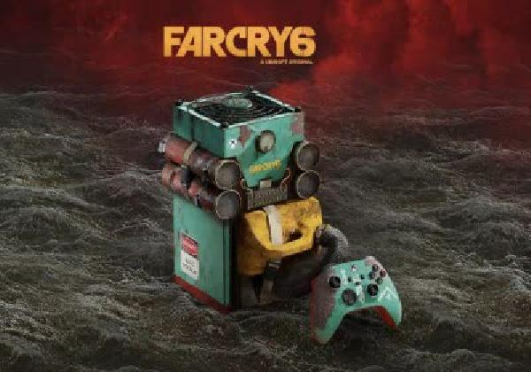 https://safirsoft.com Microsoft is offering a chance to win a Far Cry 6-themed Xbox Series X along with a 77-inch TV