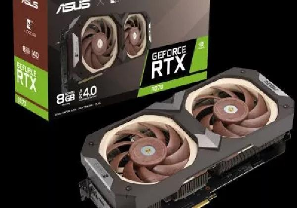 https://safirsoft.com The Asus GeForce RTX 3070 Noctua Edition GPU is offered in standard and overclocked versions